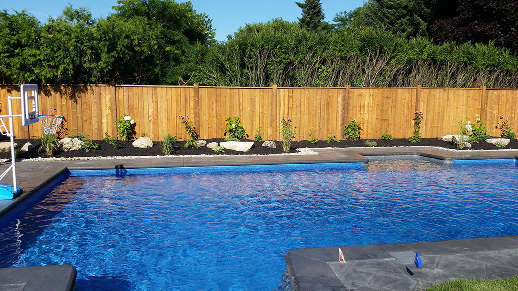 Flandscape pool pictures photos of completed work in for Pool design london ontario